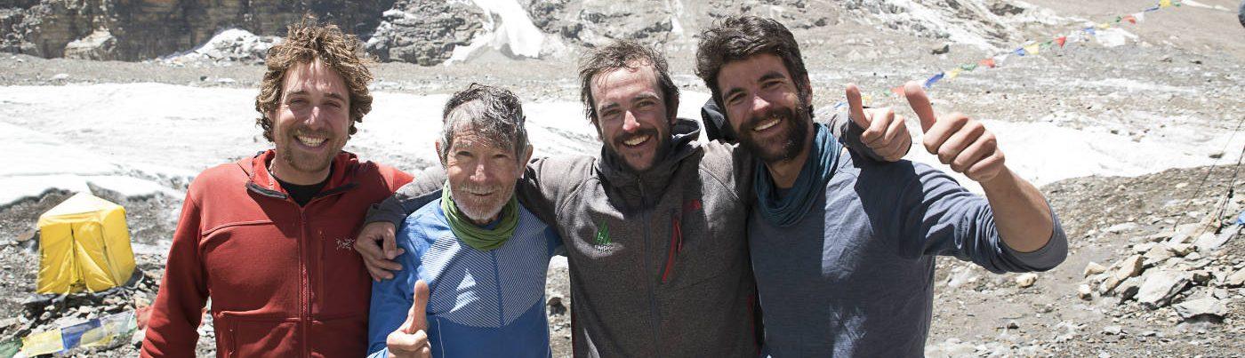 Nicolás Mena en el Himalaya